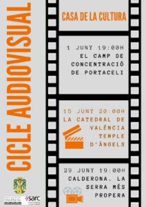 El cicle audiovisual plena de projeccions el mes de juny