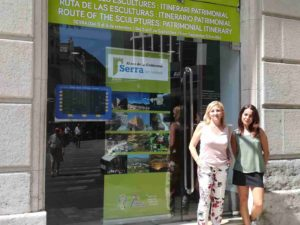 The City Council of Serra promotes the tourist resources of the municipality in Valencia