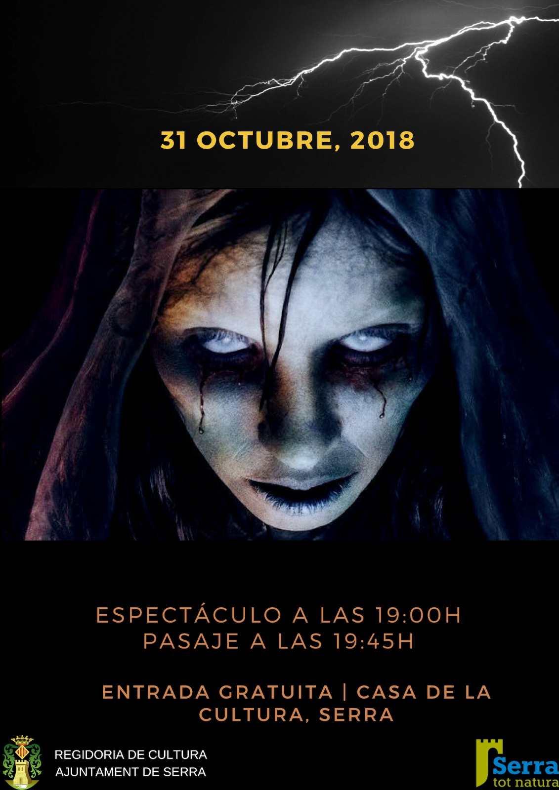 Passatge del terror per Halloween