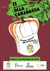 Serra celebrates the II Olla de Carabassa competition