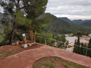 Serra posa en marxa la ruta de les escultures