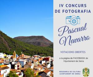 Serra abre las votaciones del IV Concurso de Fotografía Pascual Navarro