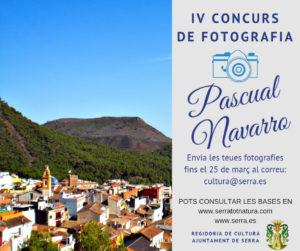 Serra convoca el IV Concurs de Fotografia Pascual Navarro