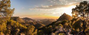 Una panorámica del Castell ganadora del IV Concurso de Fotografía Pascual Navarro