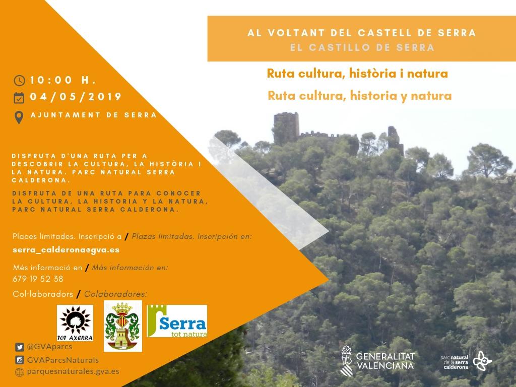 """Free route """"Al voltant del Castell de Serra"""""""