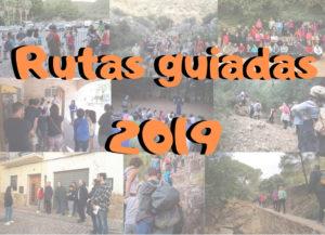 Programación anual de rutas guiadas 2019