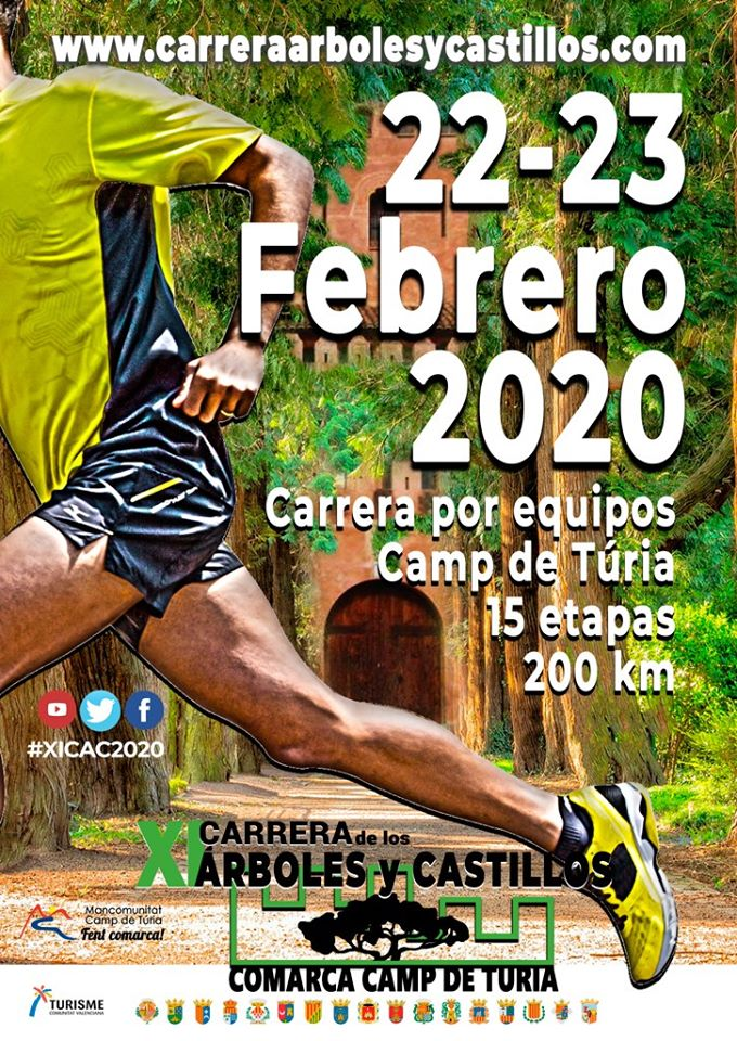XI Carrera de los Árboles y Castillos 22 i 23 de febrer