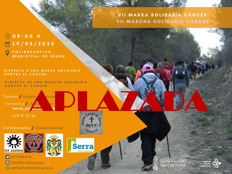 VII Marcha Solidària Contra el Cáncer AJORNADA