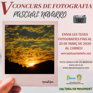 Serra fica en marxa el V concurs de fotografia Pascual Navarro