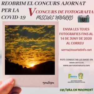 Serra reprén el V Concurs de fotografia ambiental Pascual Navarro