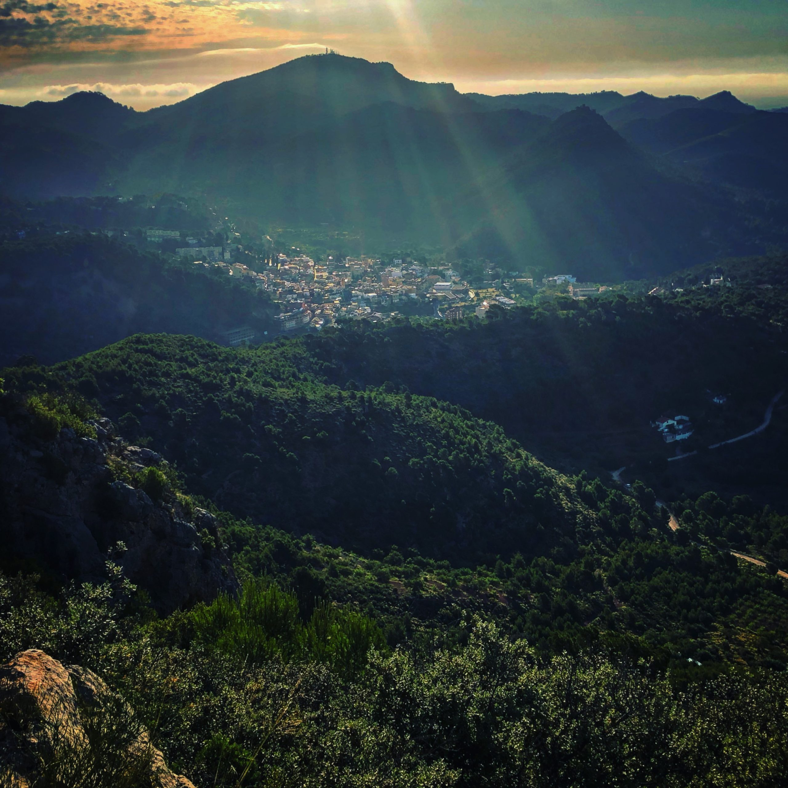 Una panoràmica de Serra guanyadora del V concurs de fotografia Pascual Navarro