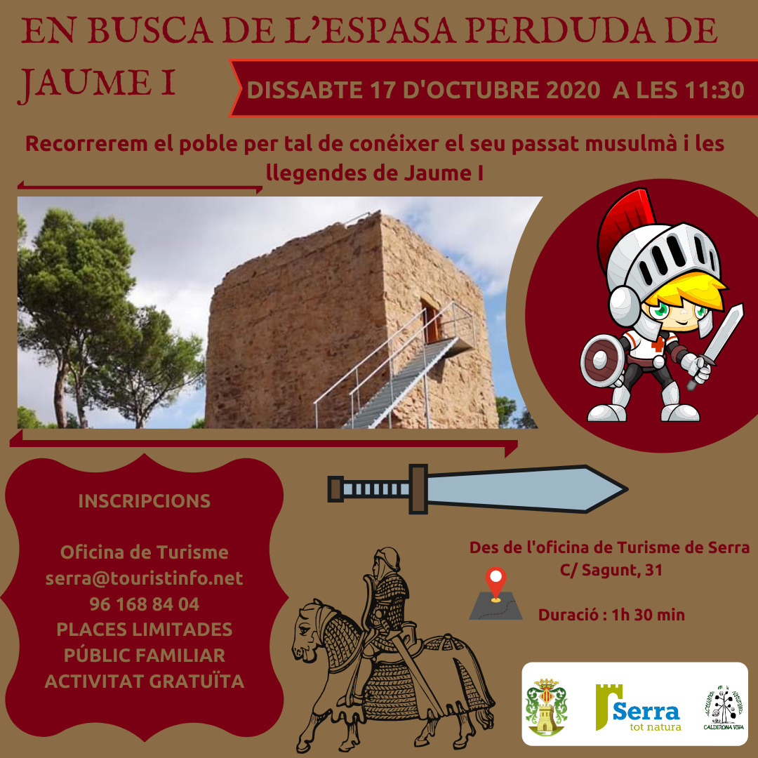 Free theatrical route: In search of the lost sword of Jaume I