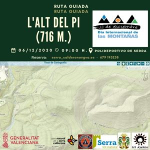 "Route to l'Alt del Pi ""International Mountain Day"""