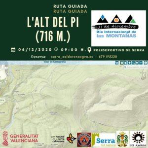 Ruta a l'Alt del Pi «Día Internacional de las Montañas»