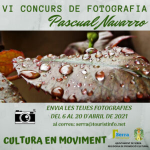Serra announces the 6th Pascual Navarro Photography Contest