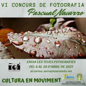 Serra convoca el VI Concurs de Fotografia Pascual Navarro