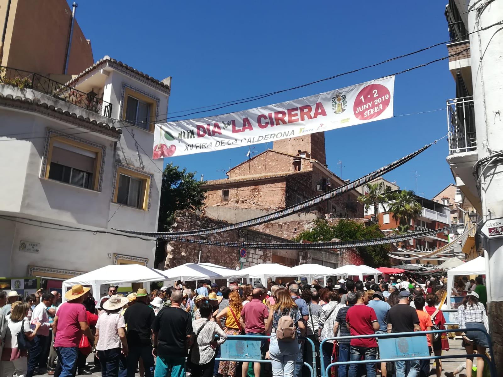 Serra suspén la Fira de la Calderona i el Dia de la Cirera