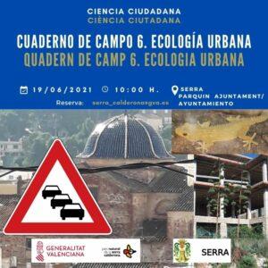 Ruta urbana ecològica amb quadern de camp