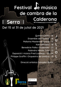 Read more about the article Festival de música de cambra de la Calderona