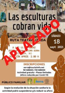 Read more about the article Ruta teatralitzada gratuïta: Les escultures cobren vida