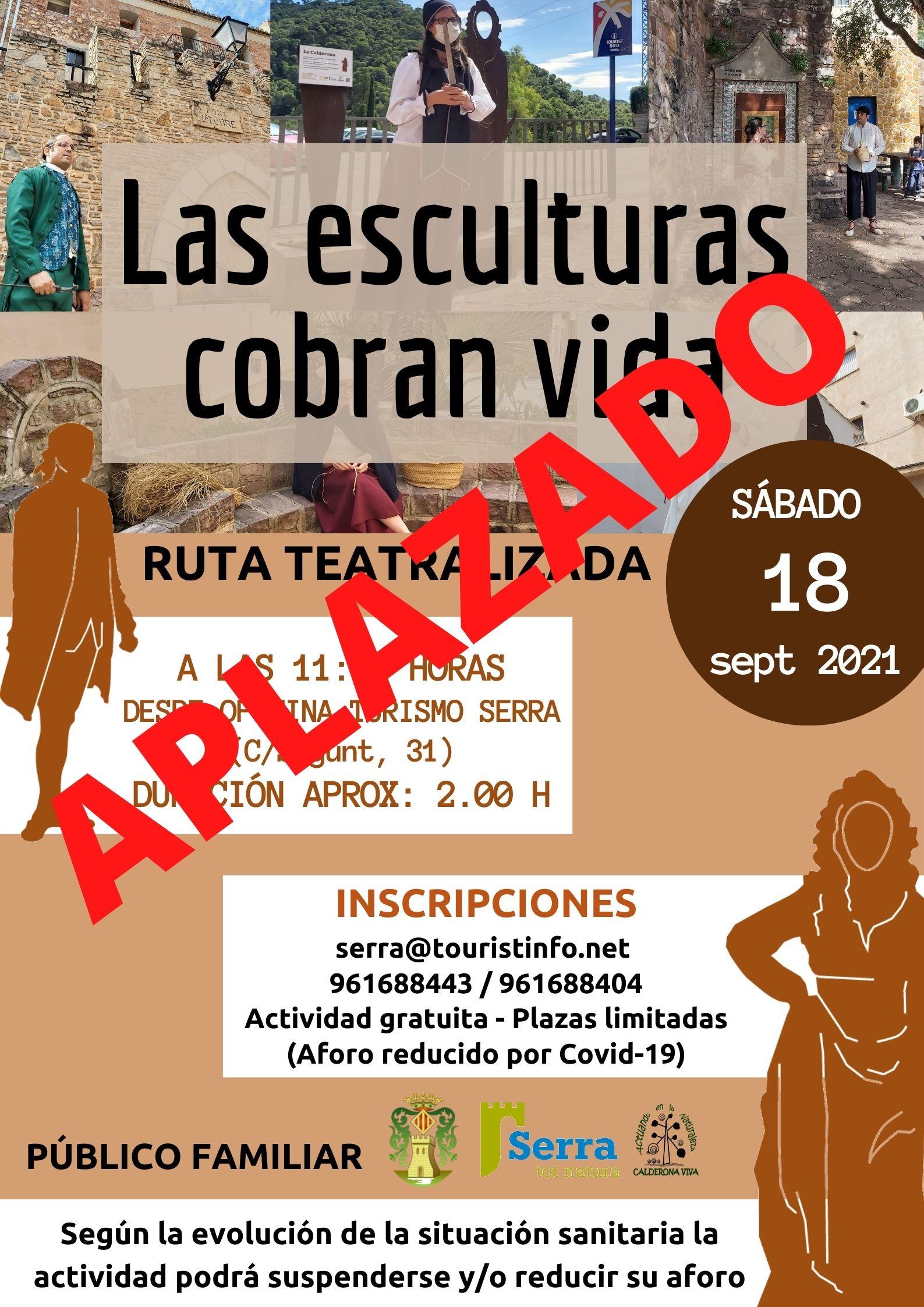 You are currently viewing Ruta teatralitzada gratuïta: Les escultures cobren vida