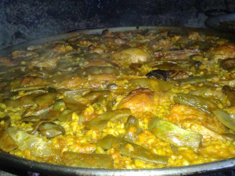 Paella gastronomia de Serra