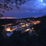 Vistes generals Serra de nit