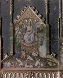 Fragment retaule de Frai Bonifaci Ferrer Judici Final a Serra