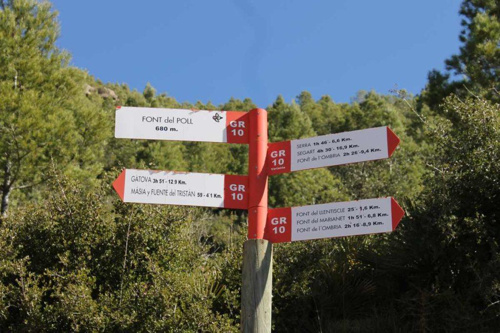 Ruta GR-10 a Serra