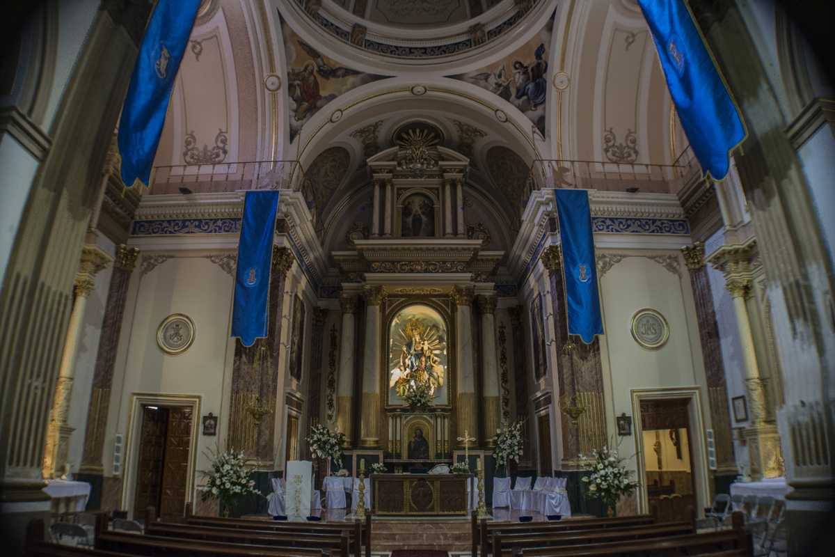 Interior Església de Serra